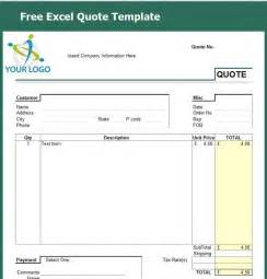 quotation invoice template cleaning service quotation sle free quote template