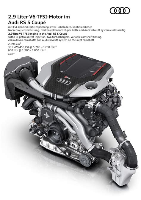 Audi Tt Rs Motor Probleme by Audi Launches New Rs5 Coupe With 450 Ps Bi Turbo V6 Tfsi