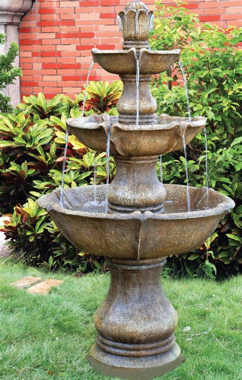 large  tier classic fountain garden water features depot
