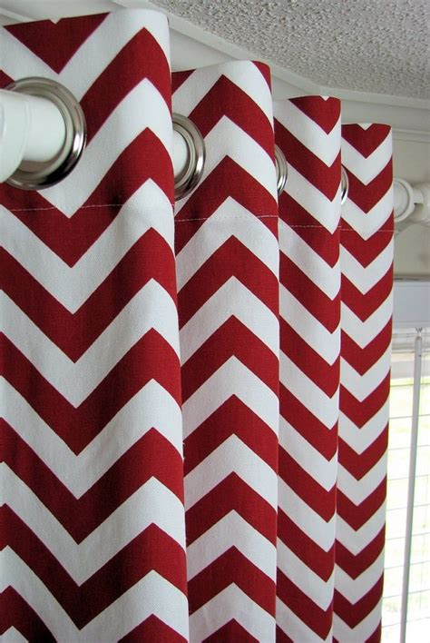 chevron curtains kitchen ideas