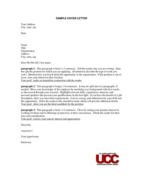 cover letter no address how to write a cover letter with no name or address
