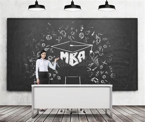 Mba Org Blackboard by A Presents Mba Sketch On The Black Chalk