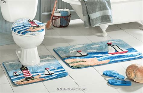 lighthouse bathroom rugs lighthouse waste basket 09a137jpg lighthouse waste basket