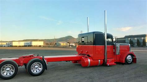 lowered trucks lowered peterbilt truck youtube