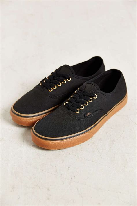 outfitters mens sneakers vans authentic gum sole mens sneaker outfitters