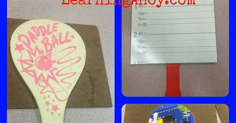 Setelan Paddle Helo Word Size 4 make your own white boards and color word freebie