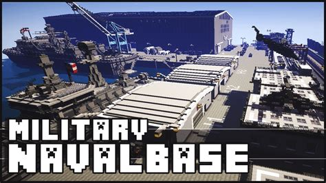 how to make a navy boat in minecraft minecraft military base naval base with epic secret