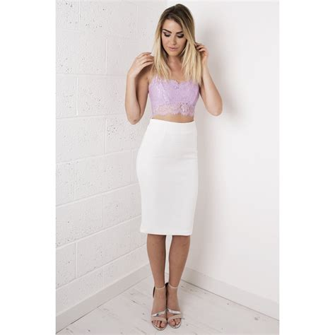 high waisted white midi skirt dress