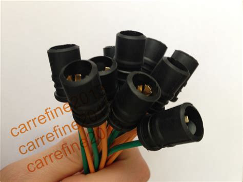 t10 t15 rubber socket car led bulb holder adapter cable