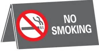 no smoking sign large no smoking desk sign large