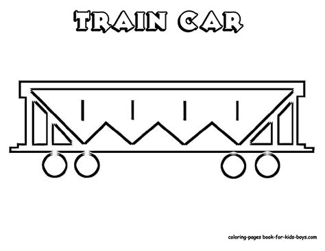 coloring pictures of train cars outlines of train cars to help them draw transportation