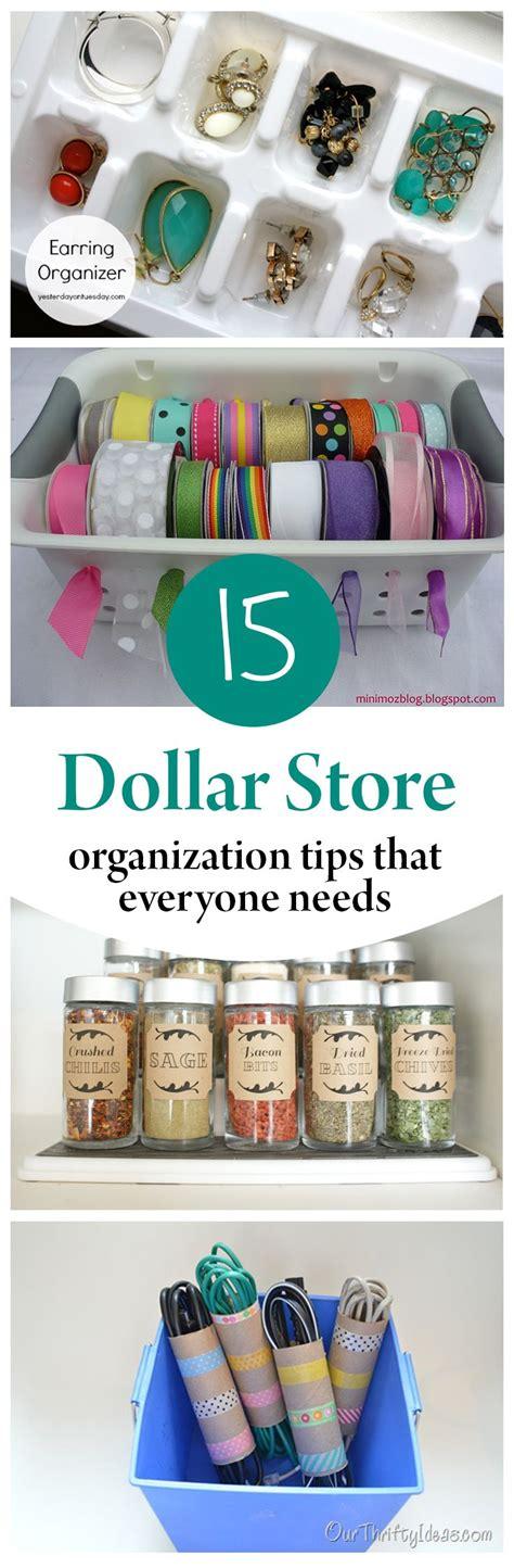 dollar store organization hacks 15 dollar store organization tips that everyone needs