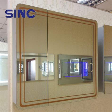 Cheap Bathroom Mirror Cabinets Cheap Price Bathroom Mirror Cabinet With Aluminum Housing Buy Mirror Cabinet Antique Bathroom