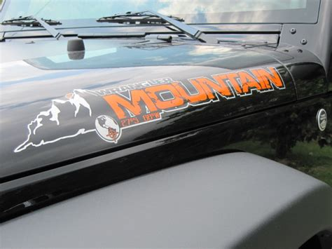 mountain jeep logo jeep decals hood images