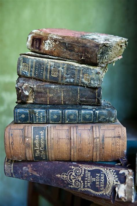 decaying books in an abandoned manor home the library beautiful reading room
