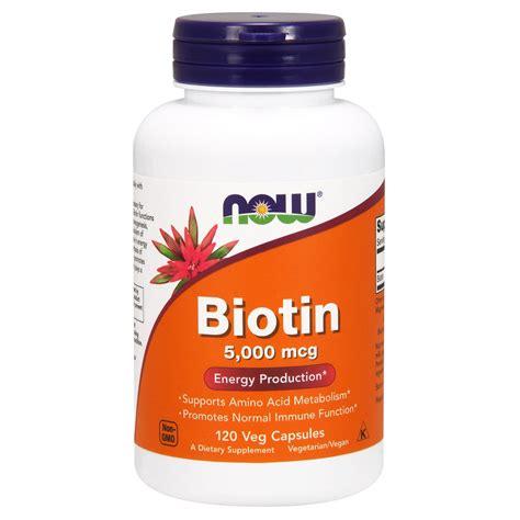 12 natural surprising foods to find biotin 12 maneras naturales de now foods biotin 5 000 mcg 120 veg capsules iherb com