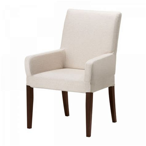 ikea dining chair slipcovers ikea henriksdal chair w arms slipcover cover 21 quot 54cm