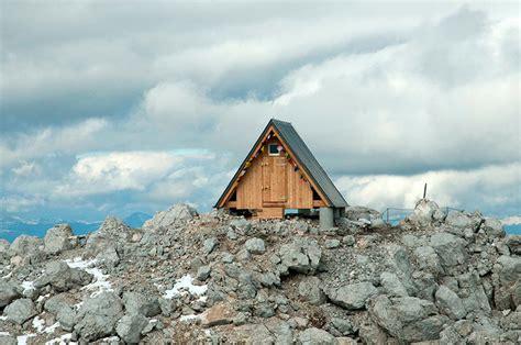 Mountain Top Cabin wooden a frame cabin crowns alpine mountaintop modern house designs