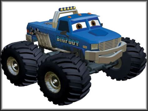 bigfoot monster truck cartoon the monster blog your 1 source for monster truck coverage