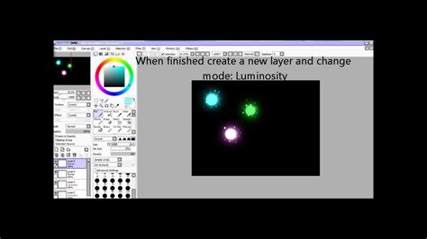paint tool sai glow tutorial how to create glow effects in paint tool sai
