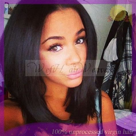 short to medium sewn in hairstyles shoulder length sew in weave hairstyles google search