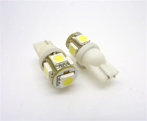 T10 Led Light Bulbs Led Smd Smt 194 T10 Wedge Base Warm White 12v Dc Ac