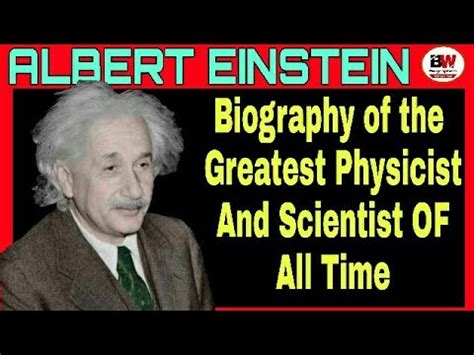 Albert Einstein Biography Youtube | albert einstein biography biography of albert einstein