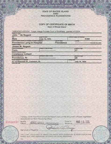 california birth certificate template birth certificate sle california image collections