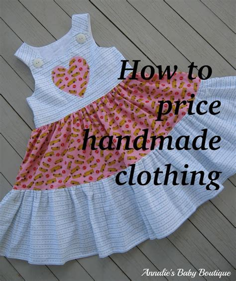 How To Price Handmade Clothing - supermommy or not why is it so expensive
