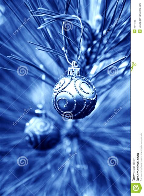blue christmas bulbs royalty free stock images image
