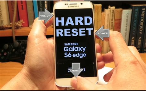 reset on samsung galaxy s6 samsung galaxy s6 reset button uses when unresponsive