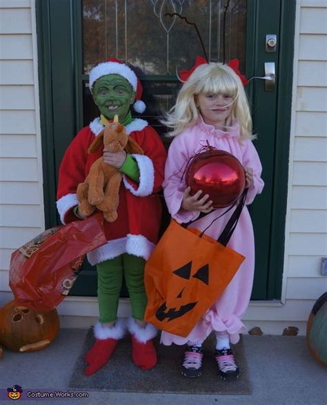 diy grinch and lou who so the grinch and lou who
