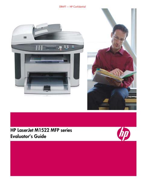 Jual Printer Hp Laserjet 1522nf Mfp free pdf for hp laserjet color laserjet m1522nf