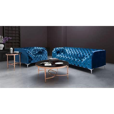 blue velvet tufted sofa providence sofa tufted blue velvet dcg stores