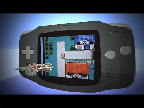 working gameboy advance in minecraft