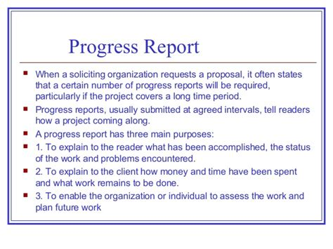 dissertation progress report proposals progress reports