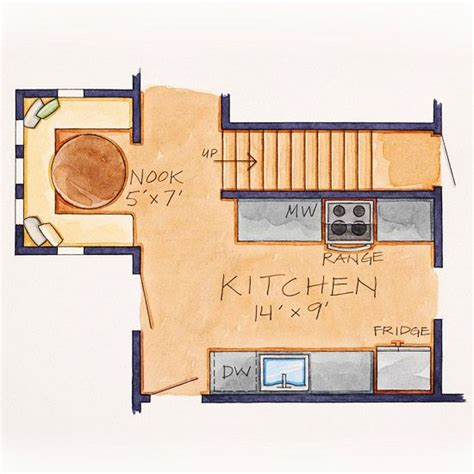 small kitchen floor plans galley afreakatheart 28 galley kitchen floor plans open small kitchen