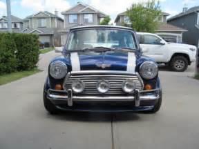 Zee Used Cars Calgary Classic Mini Cooper 1 3 Fuel Injected Rhd Factory Ac