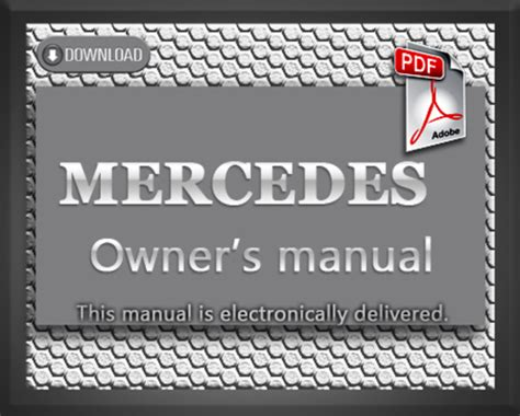 car service manuals pdf 2008 mercedes benz r class windshield wipe control 1994 mercedes benz sl320 sl500 sl600 r129 owners manual download