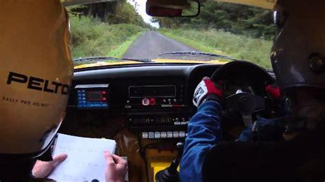 alan walker car ulster rally in car alan walker ss8 ulster 2011 youtube