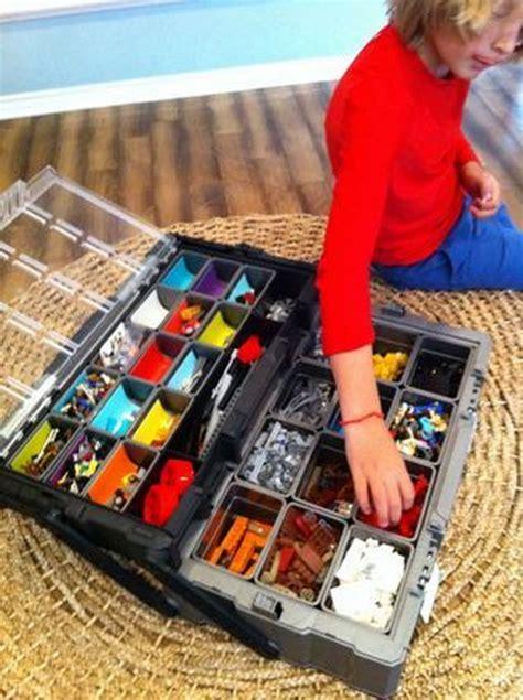 Project Kotak Penyimpanan Steel Frame Organizer Storage Box 66 L creative lego storage ideas hative