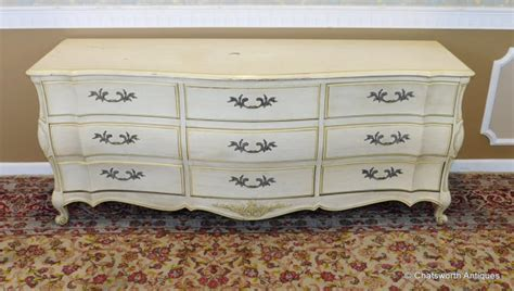 white fine furniture company bedroom set 1960s white fine furniture co painted french provincial 9