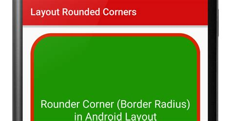 android xml layout rounded corners make rounded corners in android layout viral android