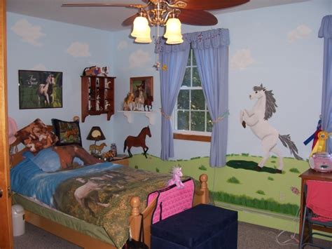 horse bedrooms girls horse room ideas