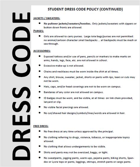 Office Dress Code Policy Template office memo just b cause