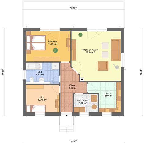 bungalow 80 qm ᐅ bungalow minni 84 qm wohnfl 228 che sawohaus