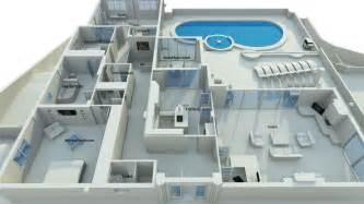 luxury house plans with pools house with swimming pool 2 bed 3 5 bath plus and