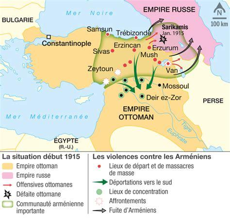 Empire Ottoman Chronologie by Le G 233 Nocide Des Arm 233 Niens 1915 1916