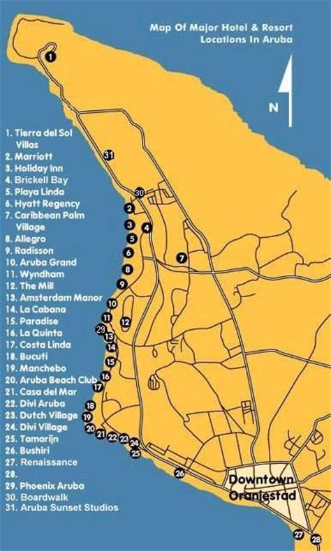 aruba eagle resort map hote map of aruba pictures to pin on pinsdaddy