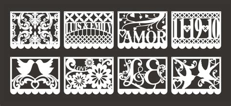 papel picado template for just what i squeeze in our muy fabulosa wedding
